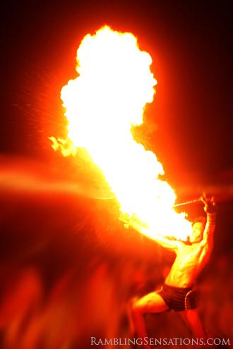 The Firedancers of Puerto Galera
