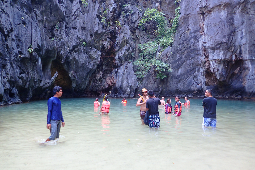 Inside El Nido's Secret Lagoon