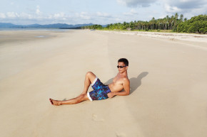 THE LONG BEACH OF POBLACION, SAN VICENTE, PALAWAN