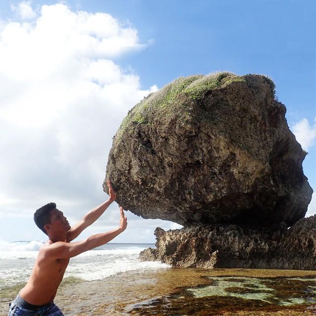 magpupungko siargao rock travel