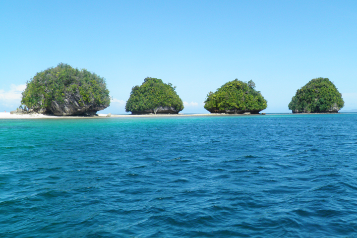 Some of the Islets at Britania Group of Islands