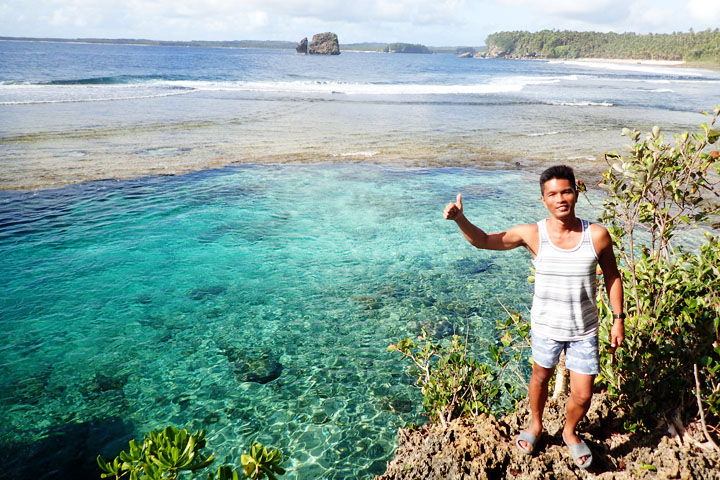 Magpupungko Beach and Natural Pools