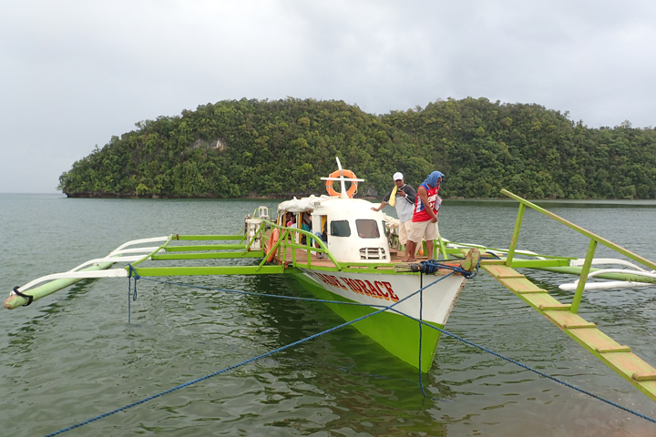 This boat will take you from Hayanggabon porto to Socorro port